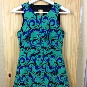 J.Grew Floral Lined Dress